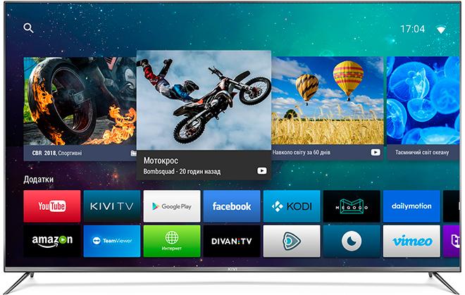 Обзор телевизора Kivi 55UR50GU